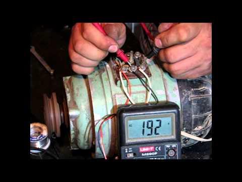Подключение 3-х фазного двигателя, на 220 вольт