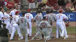 MLB: Bench-Clearing Brawls