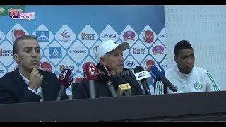 بالفيديو..مدرب الراسينغ البيضاوي يحمل مسؤولية الخسارة أمام الرجاء للاعبين  