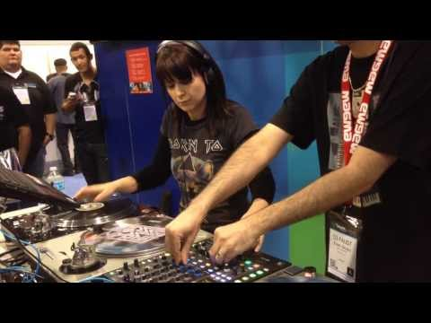 DJ Shorty & DJ Faust Showcase Winter NAMM 2014 Rane Booth
