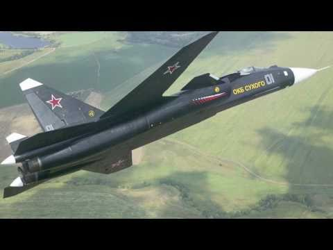 Sukhoi SU-47 (S-37) - HD - Vuelo demostrativo (SUPER AVION)