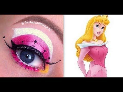 Princess Aurora, Sleeping Beauty Makeup Tutorial