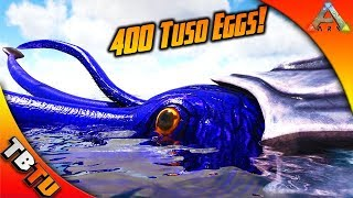 400 TUSOTEUTHIS EGG HATCHING! TUSO COLOR MUTATIONS! Ark Survival Breeding Evolved