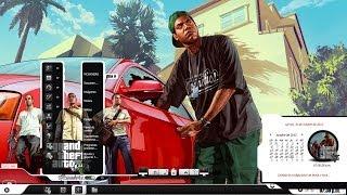 """TEMA (GTA V) PARA WINDOWS 7. """"GRAND THEFT AUTO FIVE"""""""
