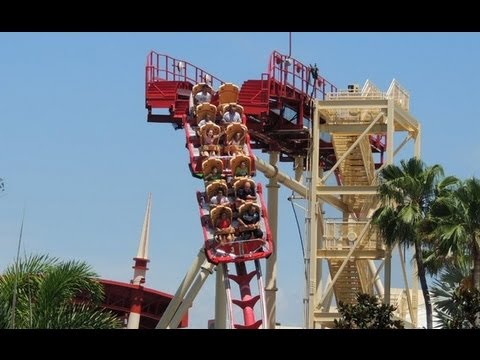 Hollywood Rip Ride Roller Coaster Accident Woman Injured At Orlando Theme Park