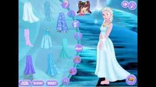 Jocuri Cu Elsa Frozen Printesa Ghetei