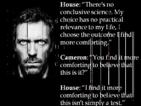 House md Quotes Funny House md Atheist Quote