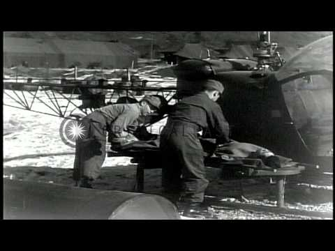 U.S. Army troops seen during 3rd Winter Campaign of Korean War. HD Stock Footage