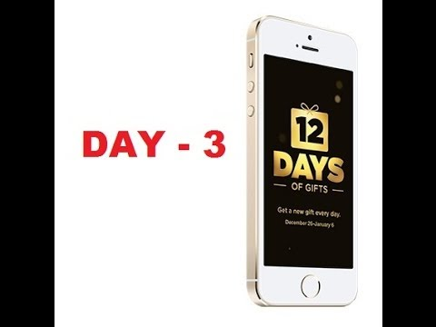 12 Days of Gifts (Day 3)
