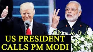 Trump calls PM Modi, congratulates him on UP poll victory..