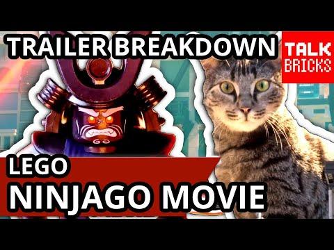 LEGO Ninjago Movie Trailer 2 Breakdown! Secrets! Easter Eggs! GIANT CAT MEOWTHRA?! Comic Con Trailer