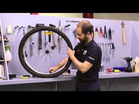 Bicycle Puncture Repair - Fixing A Flat Tyre Fast