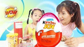 BÉ ĐỔI KẸO MÚT 🤣 Kids Exchange Candy Finger Family Song ♥ Dâu Tây Channel