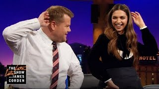 Watch: Deepika Padukone Teaches James the Lungi Dance; Vin..