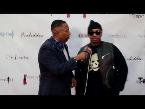 Michael Keith from 112 with ATL Red Carpet at Studio 11 Film's Red Carpet Premiere