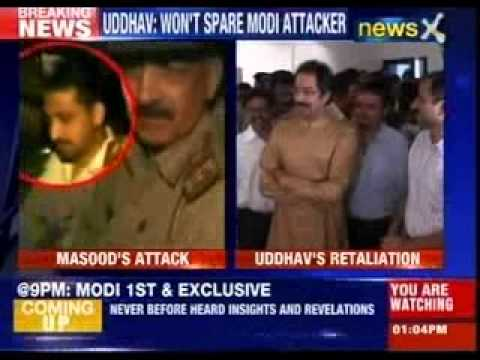 Uddhav Thackeray retaliates in Masood's 'kill Modi' comment