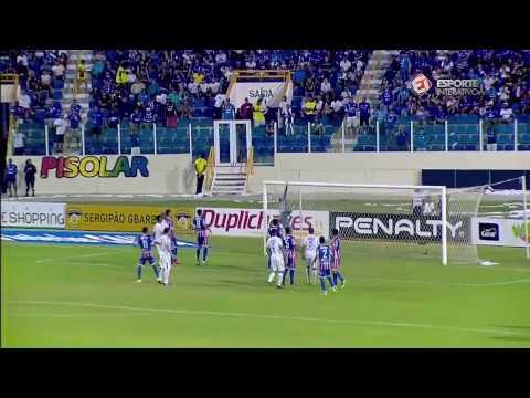 Confiança 1x1 Itabaiana - Final do Campeonato Sergipano 2017 (1º jogo)