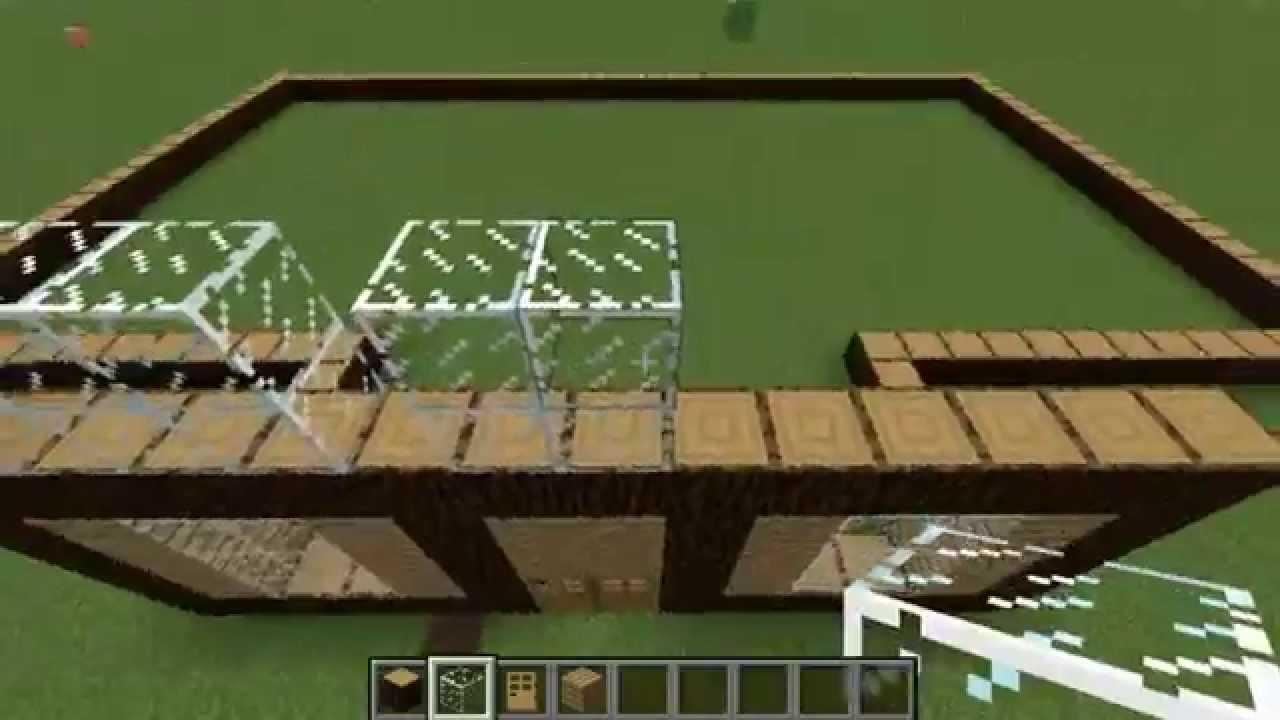 Minecraft i comment faire une tr s grande maison i episode 1 youtube - Comment avoir une belle maison ...