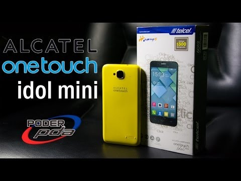 Alcatel OneTouch idol Mini - Unboxing en Español
