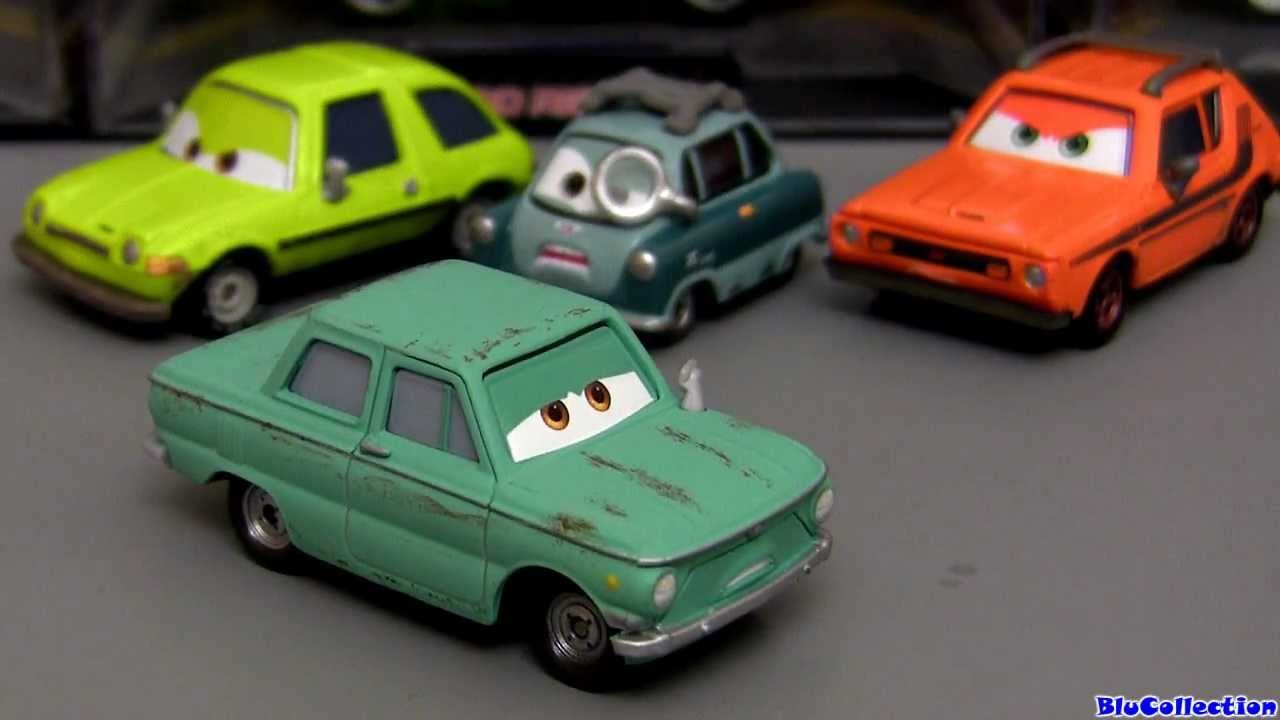 Disney Cars Toys Youtube: Cars 2 Petrov Trunkov #18 Diecast Disney Pixar Figure Toy