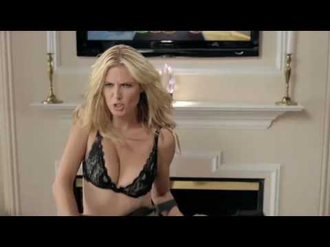 heidi klum's guitar hero striptease HD