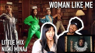 LITTLE MIX - WOMAN LIKE ME FT. NICKI MINAJ   MUSIC VIDEO REACTION