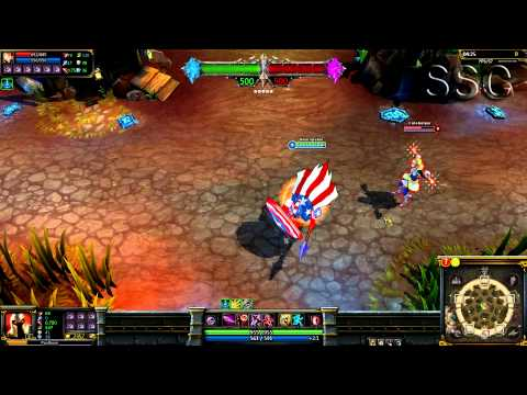 Captain America Pantheon LOL Custom Skin ShowCase, League of Legends Captain America Pantheon Custom Skin. Skin Author: ipawnproz4athene http://leaguecraft.com/skins/12851-updated-captain-america-skin-for-pan...