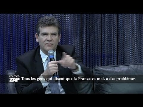 Arnaud Montebourg fait le show -en anglais- devant les entrepreneurs - 12/12