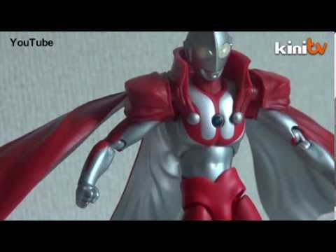 Ultraman threat to public order