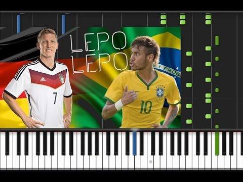 Psirico - Lepo Lepo (Sucesso Carnaval 2014) [Piano Cover Tutorial] (♫)