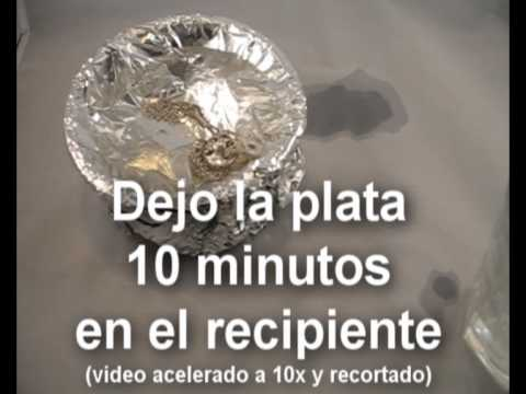 Truco limpiar plata youtube - Con que limpiar la plata ...
