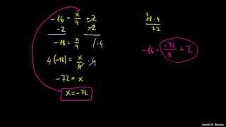 Reševanje Ax + B = C
