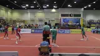 Sepak Takraw Prince Cup 2014 Semi Final Army Vs. Port