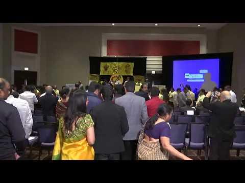 Full Function Coverage of Hon.Chief Minister of Andhra Pradesh Sri.Nara Chandrababu Naidu Gari visit to Chicago - May 11th 2017