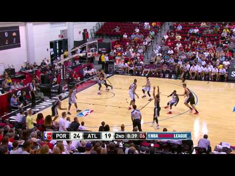Summer League: Portland Trail Blazers vs Atlanta Hawks