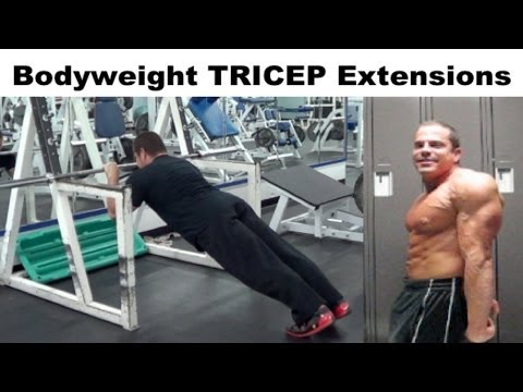 Bodyweight exercises to boost biceps and triceps worldnews com