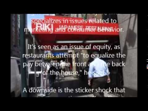 Gratuities 'not expected' as some US restaurants forgo tips