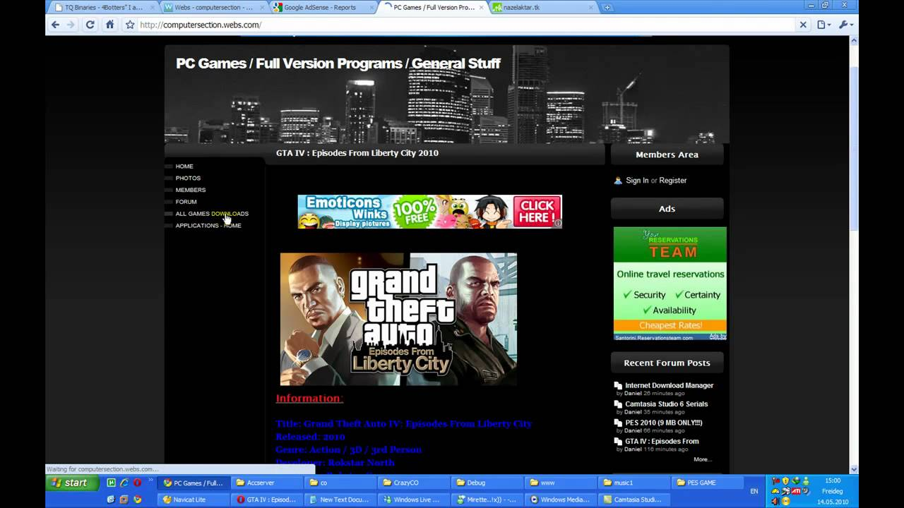 GTA IV : Episodes From Liberty City (Download Free) (Parts ...
