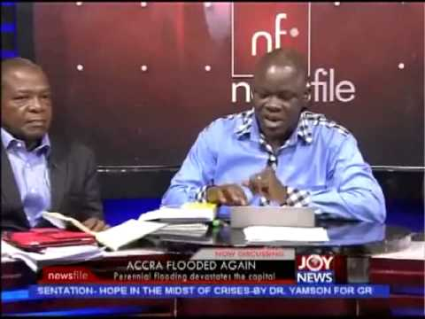 Accra Flooded Again - Newsfile (7-6-14)