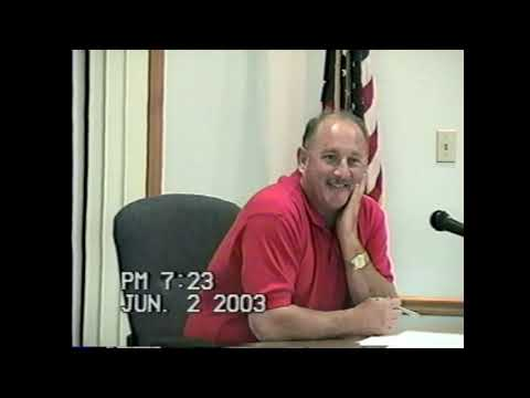 Rouses Point Village Board Meeting 6-2-03