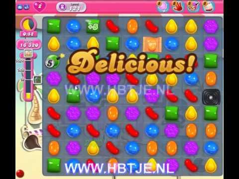 Candy Crush Saga level 121