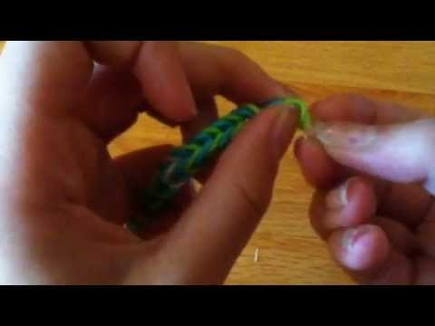 how to make rubber band bracelets without loom