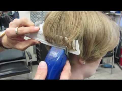 Casandra's short clipper haircut Buzz Video - YouTube