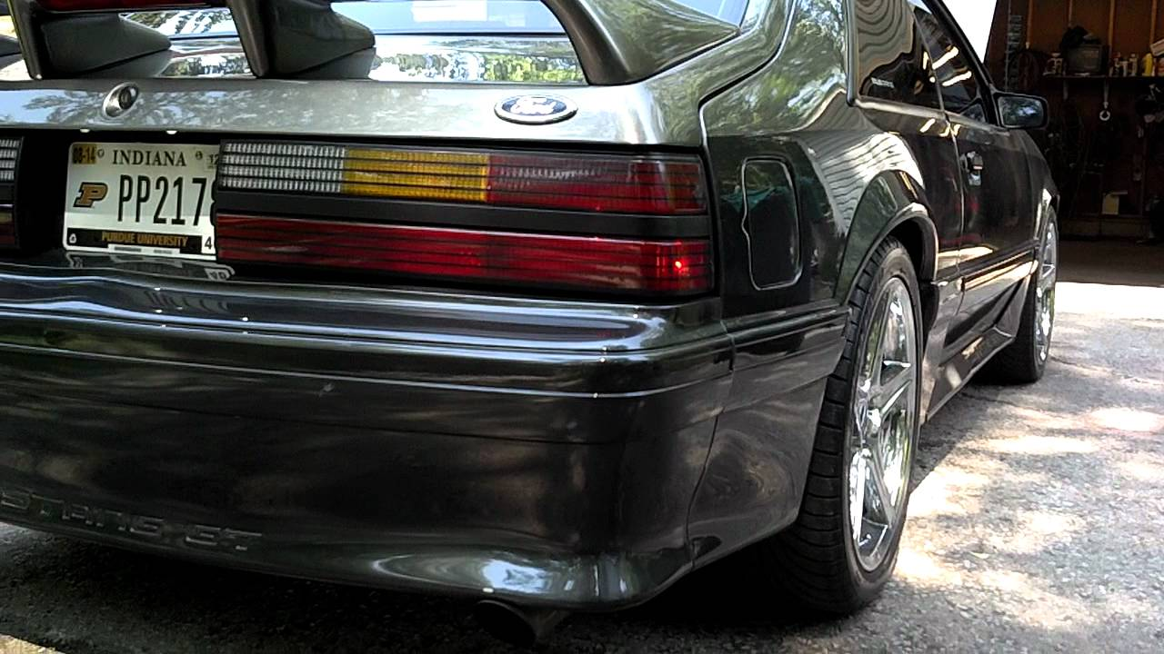 Vortech Supercharged 91 Fox Body Mustang Youtube