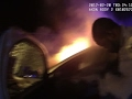 Raw: DC Police Rescue Man From Burning Car