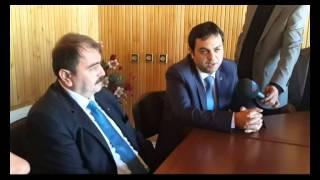 Ak Parti heyiti ve Belediye Başkan Adayı Süleyman mutlu Bucak Ticaret ve Sanayi Odasını ziyaret etti