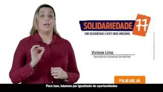 Propaganda partidária do Solidariedade no Amazonas