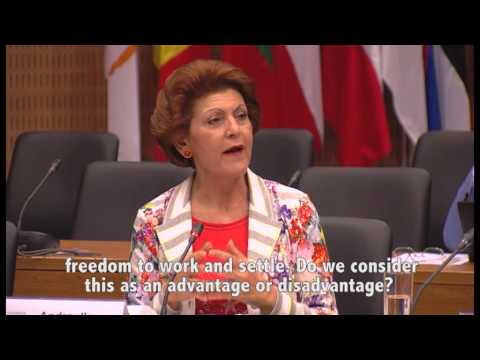 """Europe and Young People"": debate with Androulla Vassiliou"