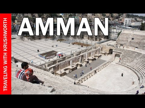 Amman, Jordan Tourism Attractions (HD) - Jordan Tourism - Travel Vlog - Amman Travel Guide