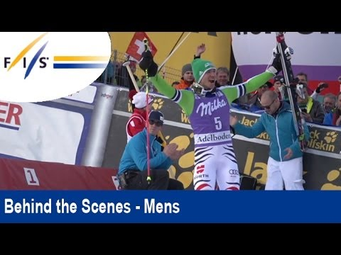 Preparing a race at +10 degrees Celsius - Behind the Scenes - Audi FIS World Cup in Adelboden